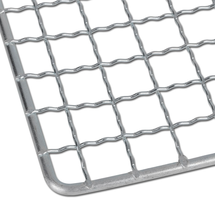 paint stripping grid galvanized metal with bent strip 3 sizes. Black Bedroom Furniture Sets. Home Design Ideas