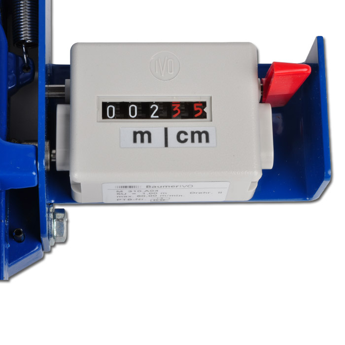 Devices For Measuring Length : Length measuring device quot vetter for cables from Ø mm