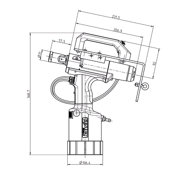 blind rivet setting tool firefox u00ae 2f axial eco