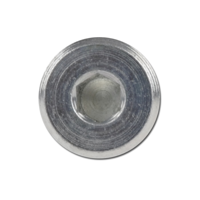 Plugs steel to mm galvanized with