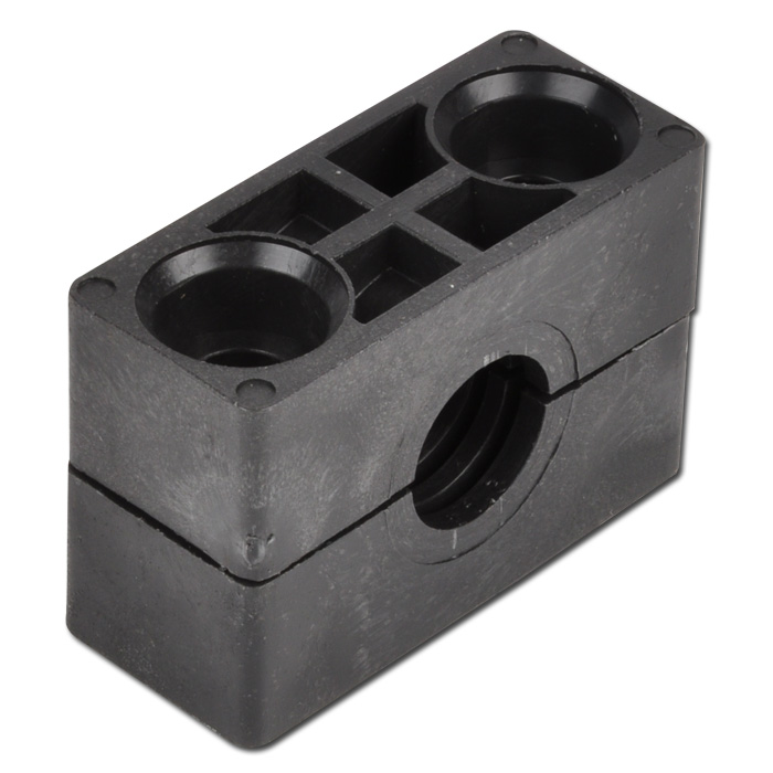 Jaws for pipe clamps plastic heavy duty series