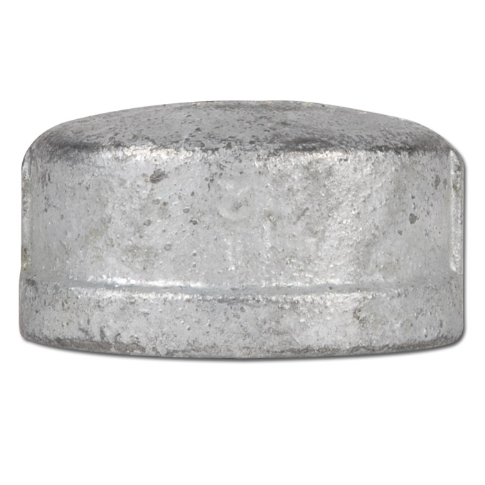 Locking cap annealed cast iron galvanized and not